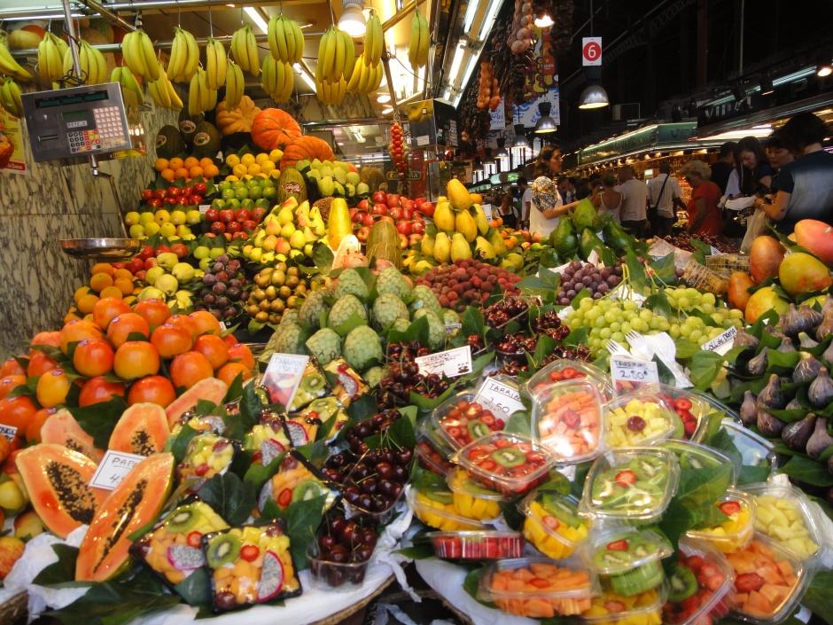 Fresh fruit at the market