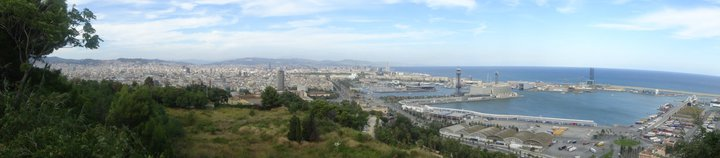 Panoramic View of Barca