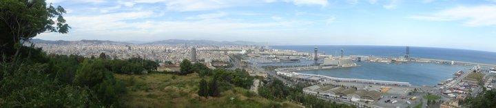 Panoramic View of Barca