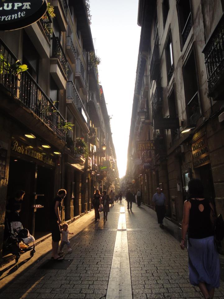 Streets of SanSebastian