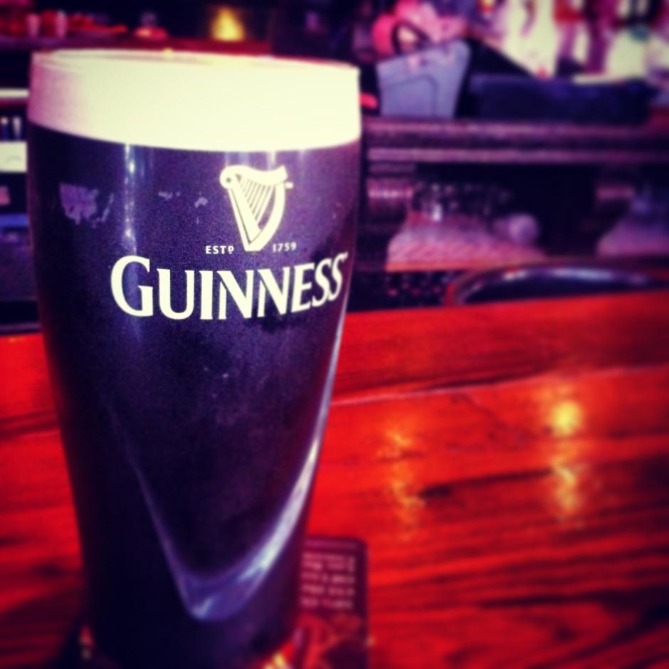 Guinness, baby!
