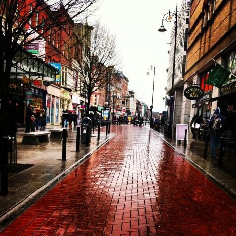 Rainy Ireland