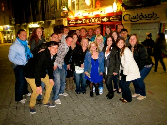 The group in Galway