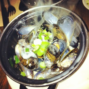 Fresh Irish mussels!