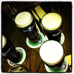 Guinness in Galway
