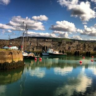 A wee Irish harbor in Northern Ireland