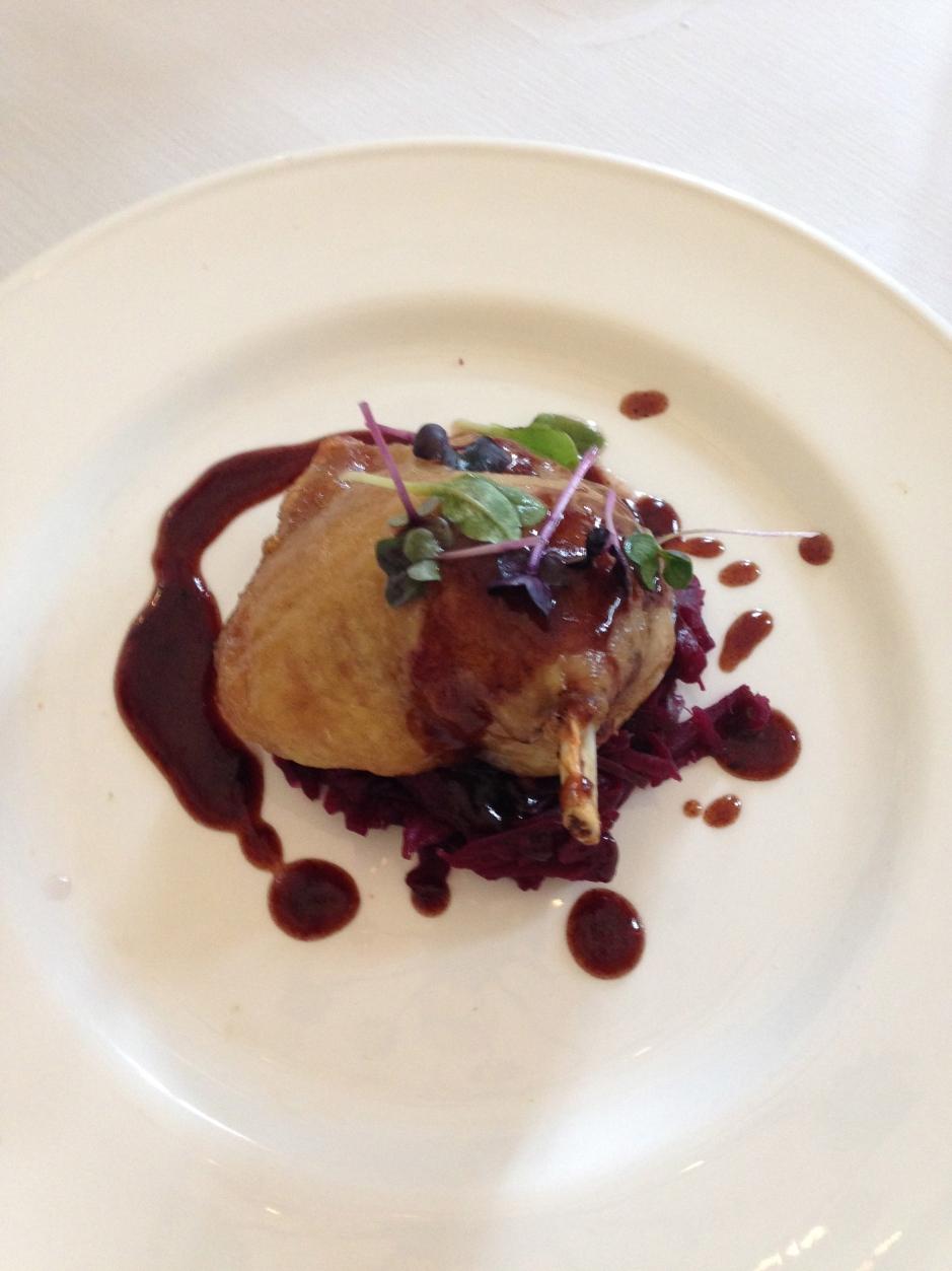 Duck: TBEX menu Ghan House, Carlingford Ireland