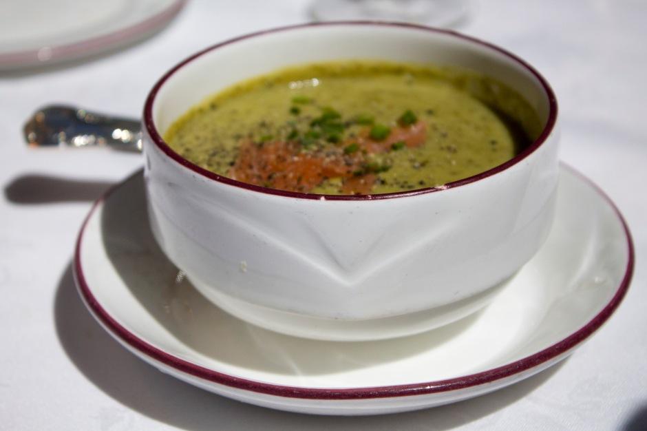 Asparagus & Salmon Soup_WineTrain